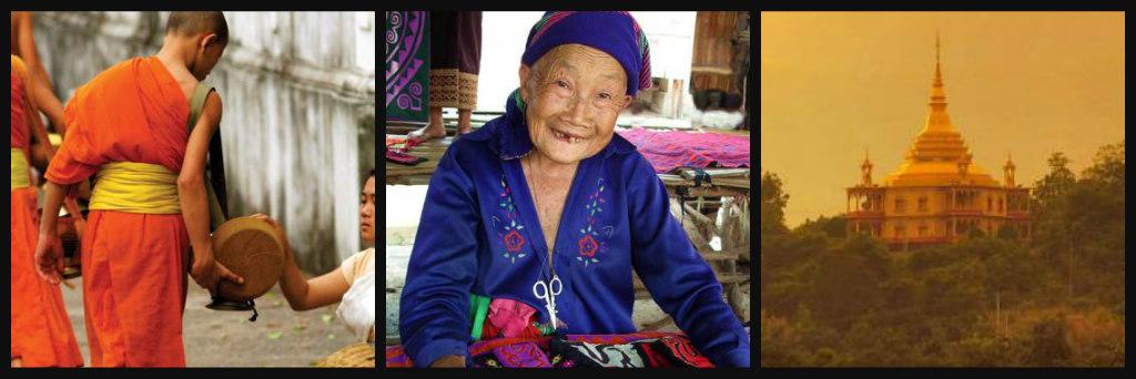 Laos collage